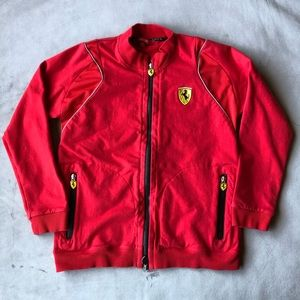 Ferrari Sweatshirt Boys Size 9-10 🌟 HOST PICK 🌟